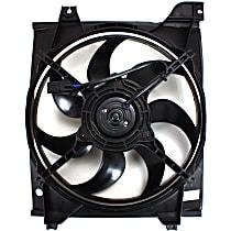 OE Replacement Radiator Fan - Until 5/8/07, Driver Side