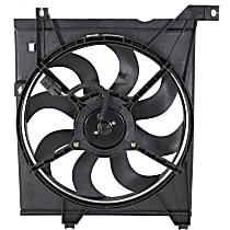 OE Replacement Radiator Fan - Driver Side