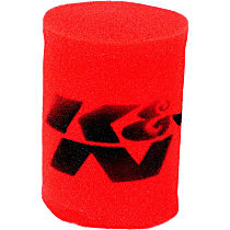 Pre-Filter - Red, Foam, Universal, Sold individually