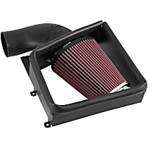 Series AirCharger 63-1132 Cold Air Intake, Oiled Cotton Gauze Filter, Black Plastic Tube