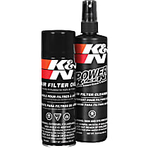 K&N 99-5000 Air Filter Cleaner - Recharger Filter Kit, Kit