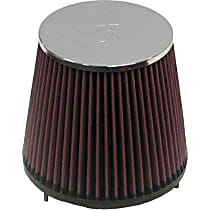 K&N E-3020 Universal Air Filter - Red, Cotton Gauze, Washable, Universal, Sold individually