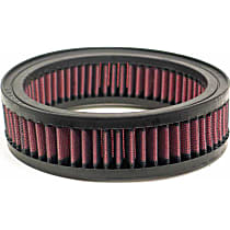 E-3240 Universal Air Filter - Red, Cotton Gauze, Washable, Universal, Sold individually