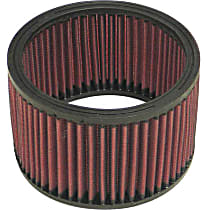 E-3344 Universal Air Filter - Red, Cotton Gauze, Washable, Universal, Sold individually