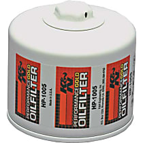 K&N HP-1005 Oil Filter - Canister, Direct Fit, Sold individually