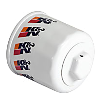 K&N HP-1008 Oil Filter - Canister, Direct Fit, Sold individually