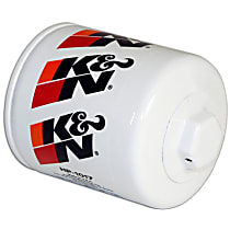 K&N HP-1017 Oil Filter - Canister, Direct Fit, Sold individually