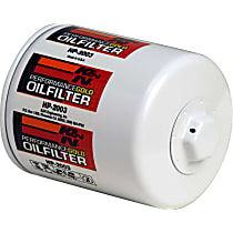 K&N HP-2003 Oil Filter - Canister, Direct Fit, Sold individually