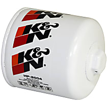 K&N HP-2004 Oil Filter - Canister, Direct Fit, Sold individually