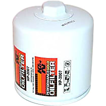 K&N HP-2007 Oil Filter - Canister, Direct Fit, Sold individually