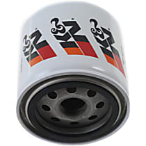 K&N HP-2010 Oil Filter - Canister, Direct Fit, Sold individually