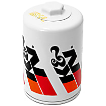 K&N HP-2011 Oil Filter - Canister, Direct Fit, Sold individually