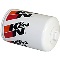 K&N HP-3001 Oil Filter - Canister, Direct Fit, Sold individually