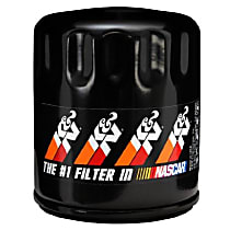 K&N PS-1017 Oil Filter - Canister, Direct Fit, Sold individually
