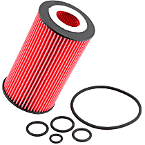 PS-7004 Oil Filter - Cartridge, Direct Fit, Sold individually