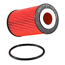 PS-7027 Oil Filter - Cartridge, Direct Fit, Sold individually