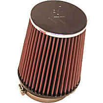 Universal Air Filter - Red, Cotton Gauze, Washable, Direct Fit, Sold individually