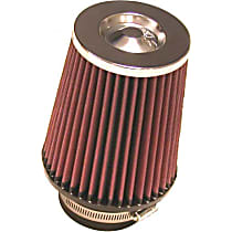 RC-4650 Universal Air Filter - Red, Cotton Gauze, Washable, Direct Fit, Sold individually