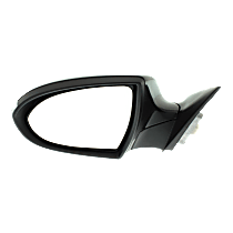 Mirror - Driver Side, Power, Heated, Power Folding, Paintable, With Turn Signal