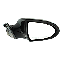 Mirror - Passenger Side, Power, Heated, Power Folding, Paintable, With Turn Signal