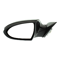 Mirror - Driver Side, Power, Power Folding, Paintable, With Turn Signal