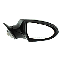 Mirror - Passenger Side, Power, Power Folding, Paintable, With Turn Signal