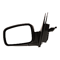 Mirror - Driver Side, Manual Remote, Textured Black