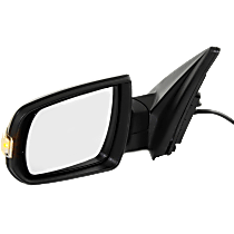 Mirror - Driver Side, Power, Heated, Folding, Textured Black, With Turn Signal