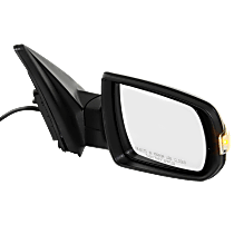 Mirror - Passenger Side, Power, Heated, Folding, Textured Black, With Turn Signal