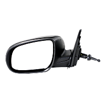 Mirror - Driver Side, Manual Remote, Paintable