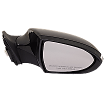 Mirror - Passenger Side, Power, Folding, Paintable, With Turn Signal