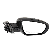 Mirror Manual Folding Non-Heated - Passenger Side, In-housing Signal Light, Paintable