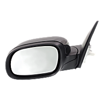 Mirror Manual Folding Heated - Driver Side, In-housing Signal Light, Paintable