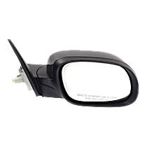 Mirror Power Folding Heated - Passenger Side, In-housing Signal Light, Paintable