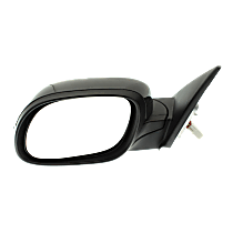 Mirror Manual Folding Non-Heated - Driver Side, In-housing Signal Light, Paintable