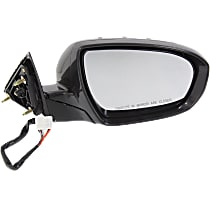 Mirror Power Folding Heated - Passenger Side, Power Glass, In-housing Signal Light, Paintable