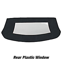 CD1165CO33SP Convertible Rear Window - Vinyl, Direct Fit, Sold individually