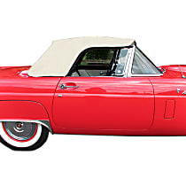 Convertible Top, Ford White