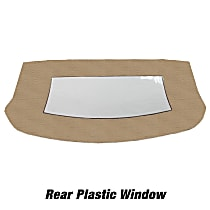 CD3051CO05SDX Convertible Rear Window - Vinyl, Direct Fit, Sold individually