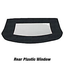 CD3062CO09SDX Convertible Rear Window - Vinyl, Direct Fit, Sold individually