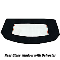 Kee Auto Top HG0289DF14SF Convertible Rear Window - Cloth, Direct Fit, Sold individually
