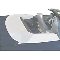 TB1018 72-75WHT Convertible Top Boot - White, Vinyl, Direct Fit, Sold individually