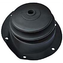 0849-715 Shift Boot - Black, Rubber, Direct Fit, Sold individually