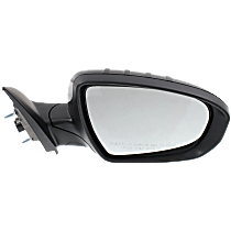 Mirror - Passenger Side, Power, Heated, Folding, Paintable, With Turn Signal, US Built Models