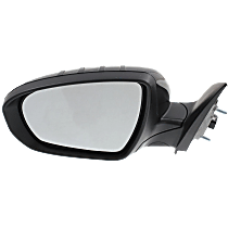 Mirror - Driver Side, Power, Heated, Power Folding, Paintable, With Turn Signal, US Built Models