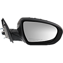 Mirror - Passenger Side, Power, Heated, Power Folding, Paintable, With Turn Signal, US Built Models