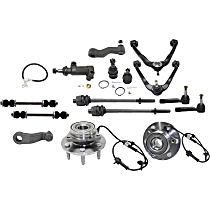 Control Arm Kit - Front, Driver and Passenger Side, Set of 15