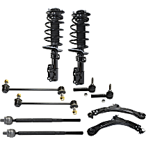 Control Arm Kit - Front, Driver and Passenger Side, Set of 10