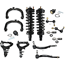 Control Arm Kit - Front, Driver and Passenger Side, Set of 14
