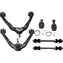 Control Arm Kit - Front, Driver and Passenger Side, Set of 6